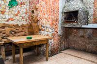 Двухкомнатный дом с мангалом