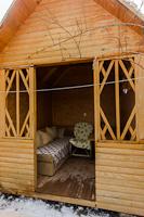 Отдых с ребенком: Двухкомнатный дом с отдельным двориком